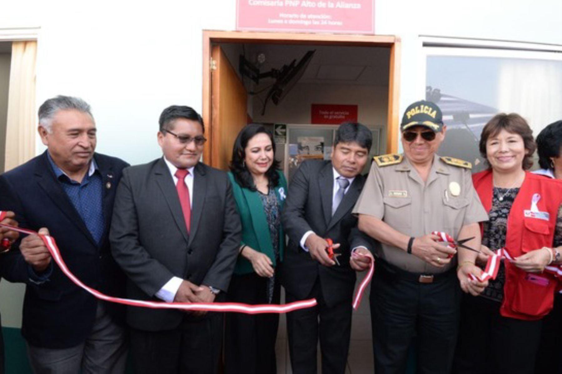 El Centro Emergencia Mujer (CEM) en la comisaría Alto de la Alianza (Tacna) atenderá a las víctimas de la violencia de género los 365 días del año.