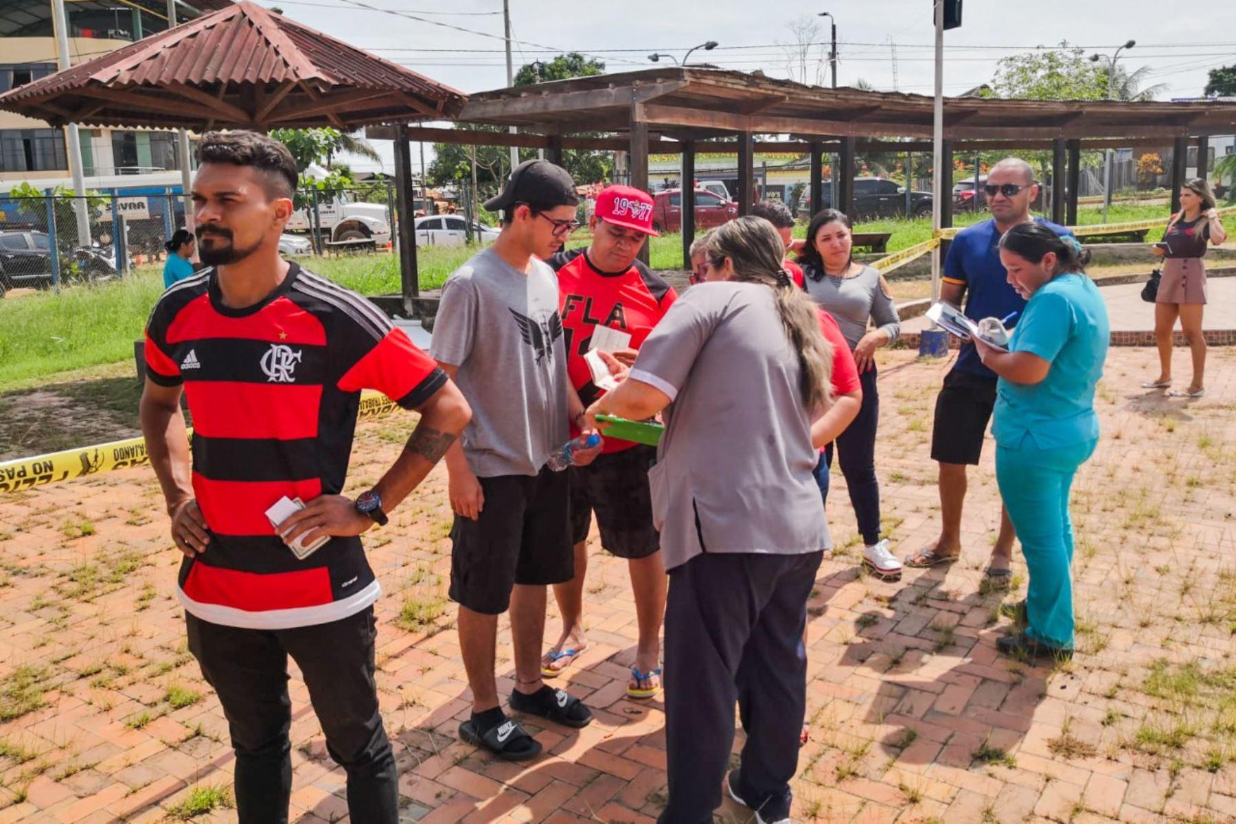 Brigadistas del Ministerio de Salud vacunarán contra la fiebre amarilla y el sarampión a los extranjeros que asistan a la final de la Copa Libertadores. ANDINA/Difusión