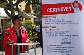 Ministra de Trabajo, Sylvia Cáceres.Foto:  ANDINA/Melina Mejía.