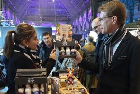 Alimentos peruanos en París. Foto: Cortesía.
