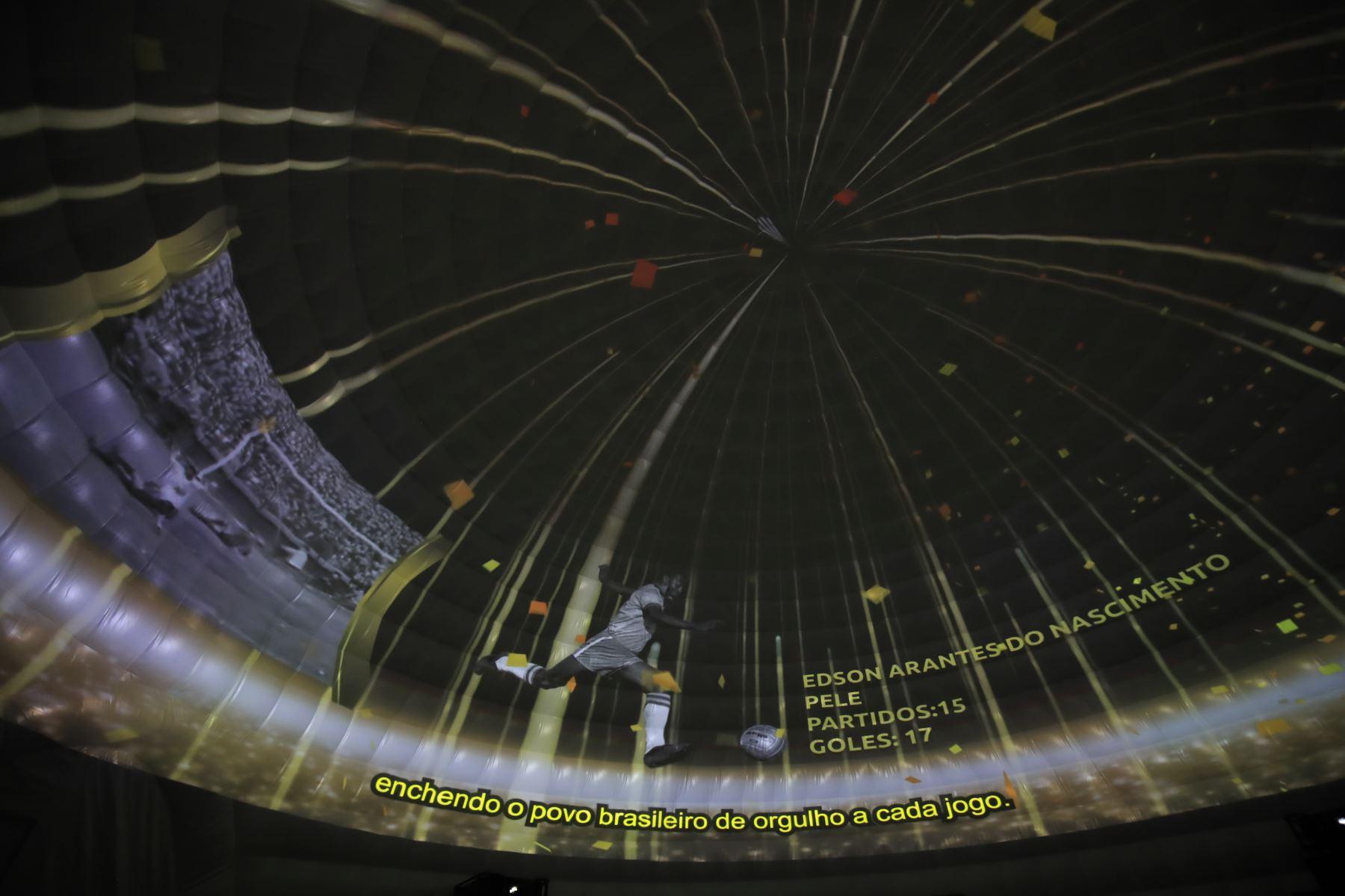 Museo cuenta con una proyección de 360 grados, ANDINA/Juan Carlos Guzmán
