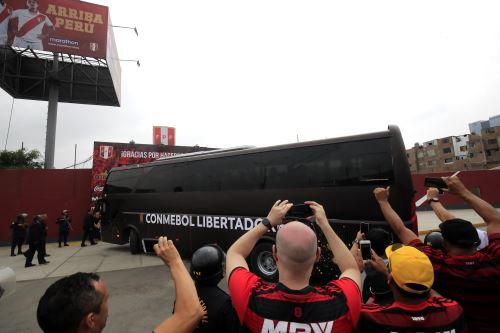 El Flamengo de Brasil llega a La Videna.