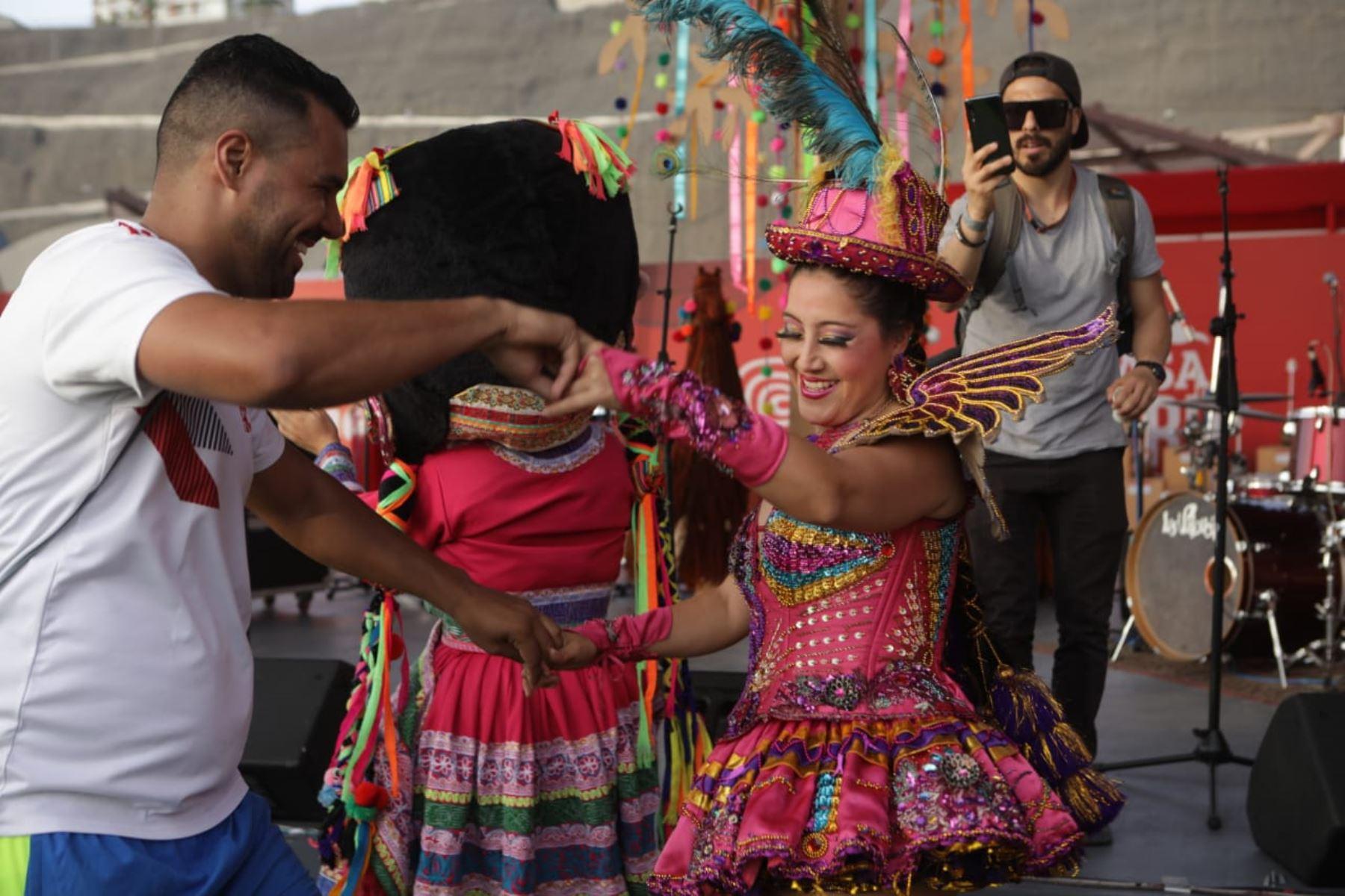 Casa Perú ofrece lo mejor de nuestra cultura. ANDINA/Difusión