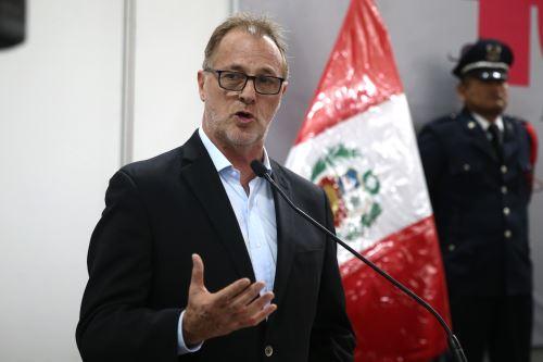 Alcalde de Lima Metropolitana, Jorge Muñoz. Foto: ANDINA/Vidal Tarqui