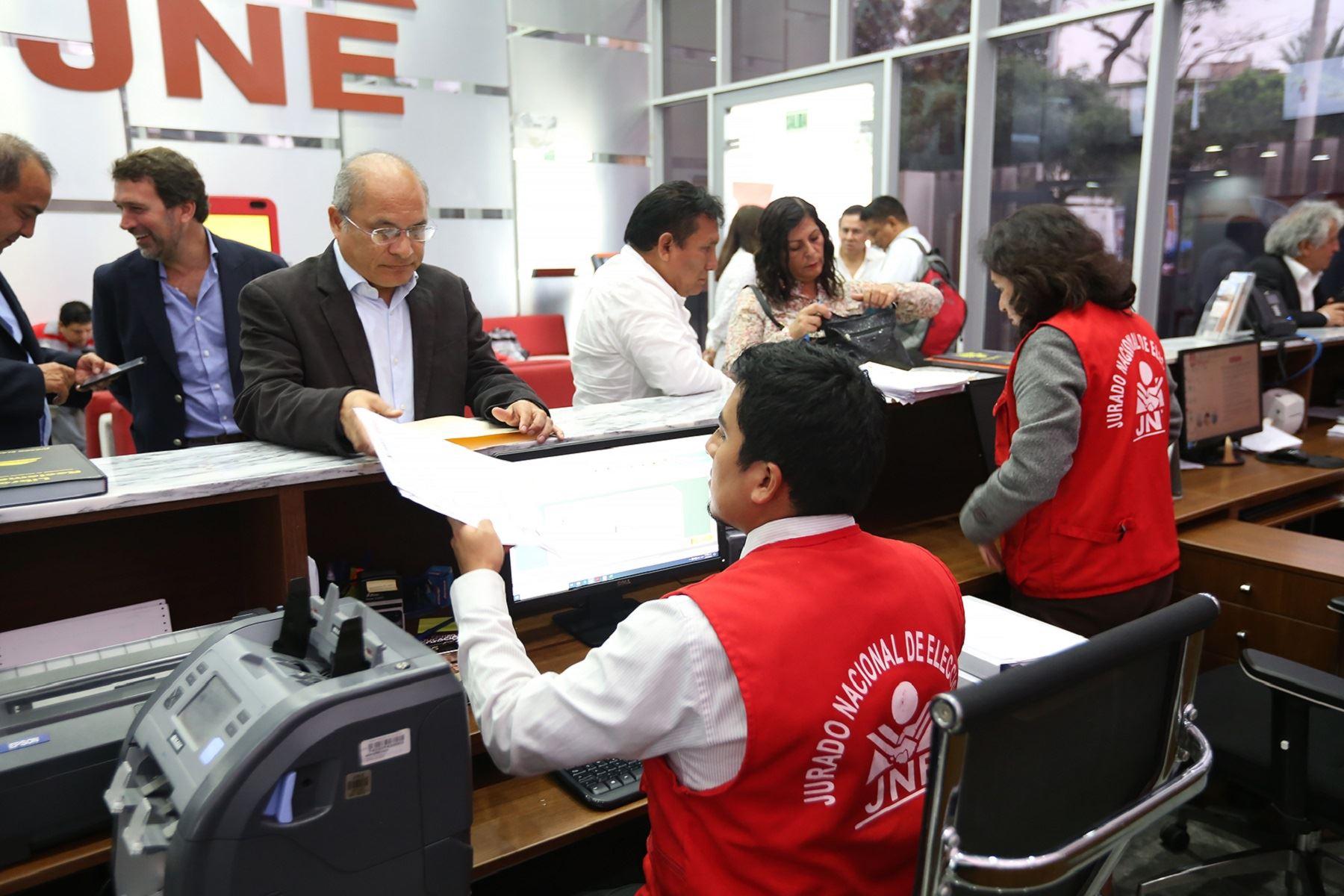 Atención en Jurado Electoral Especial (JEE). Foto: Difusión.