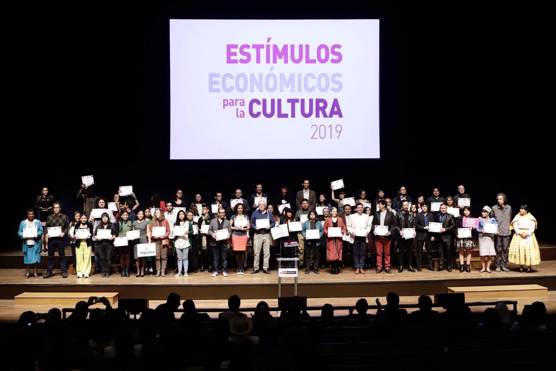 Estímulos Económicos para la Cultura financiaron 102 obras de diversas regiones este año, destacó el Ministerio de Cultura.