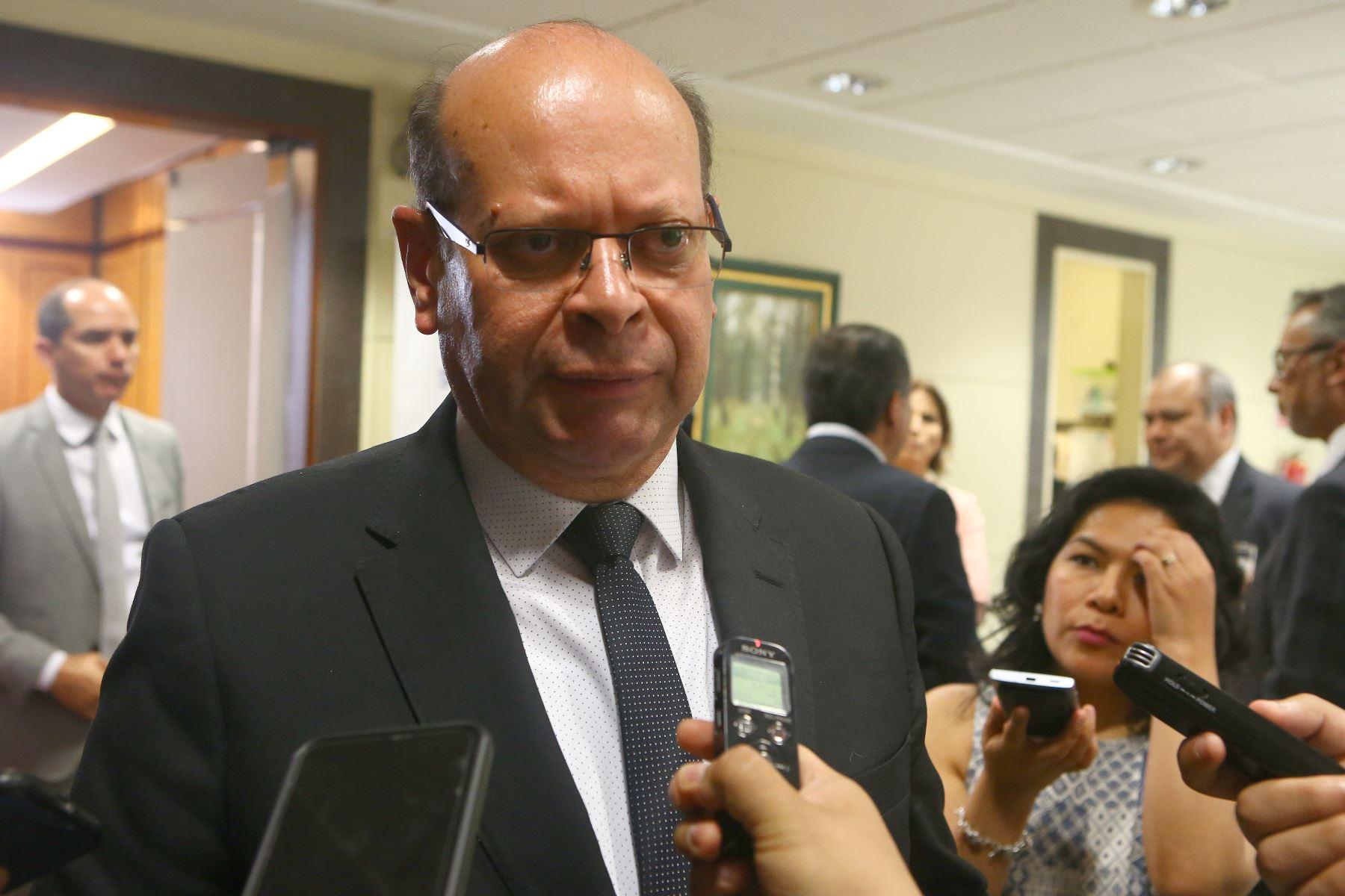 Presidente de Cofide, Carlos Linares.Foto:  ANDINA/Héctor Vinces