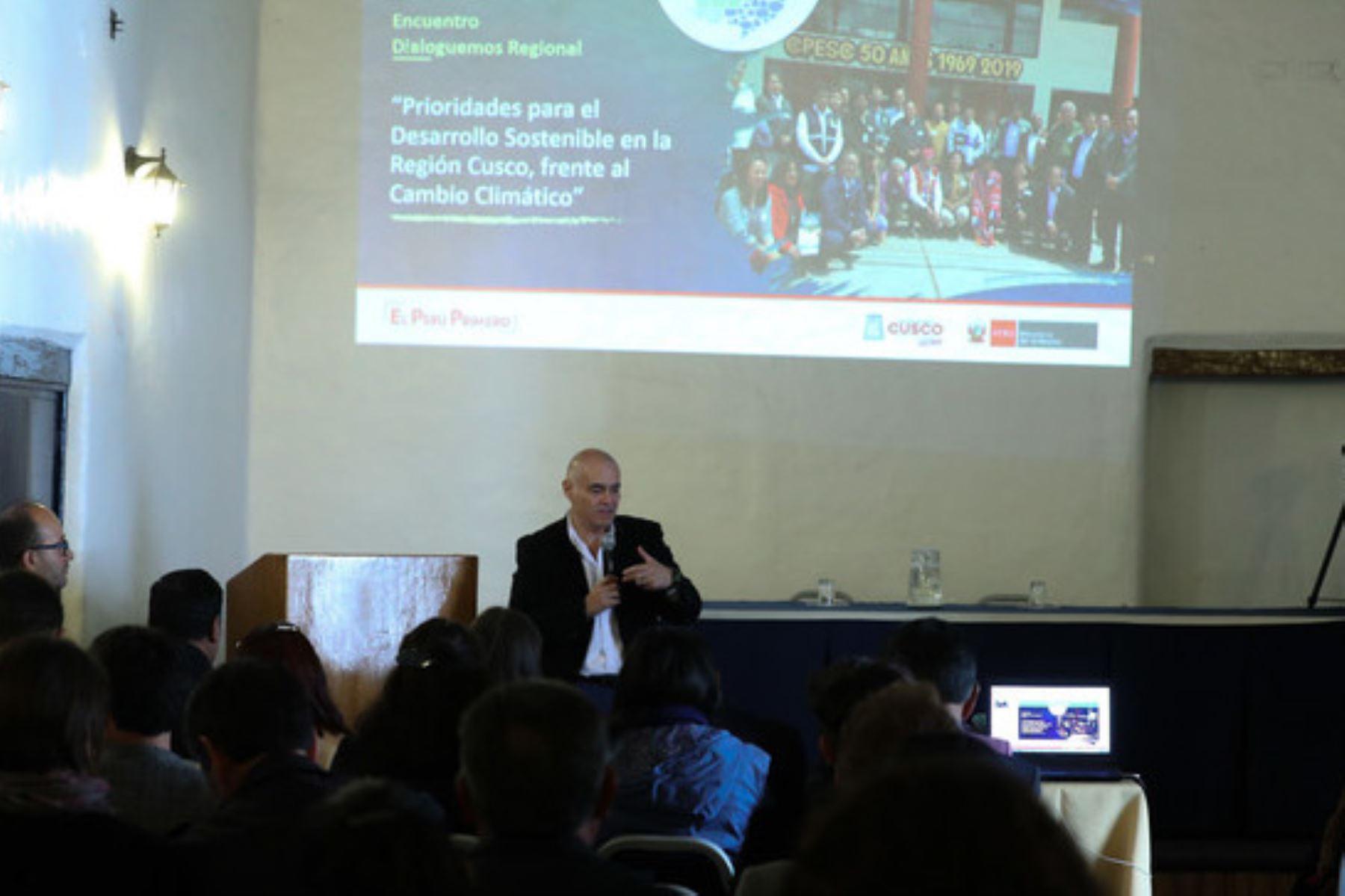 """Como parte de su estrategia frente al cambio climático, el Minam organizó el proceso participativo """"Dialoguemos"""" en la región Cusco,"""