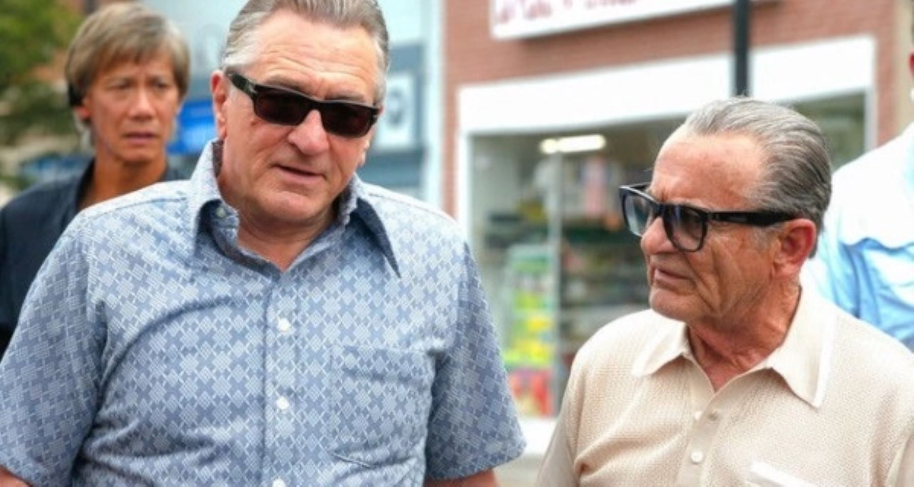 Robert de Niro y Joe Pesci en una escena de The Irishman de Martin Scorsese.