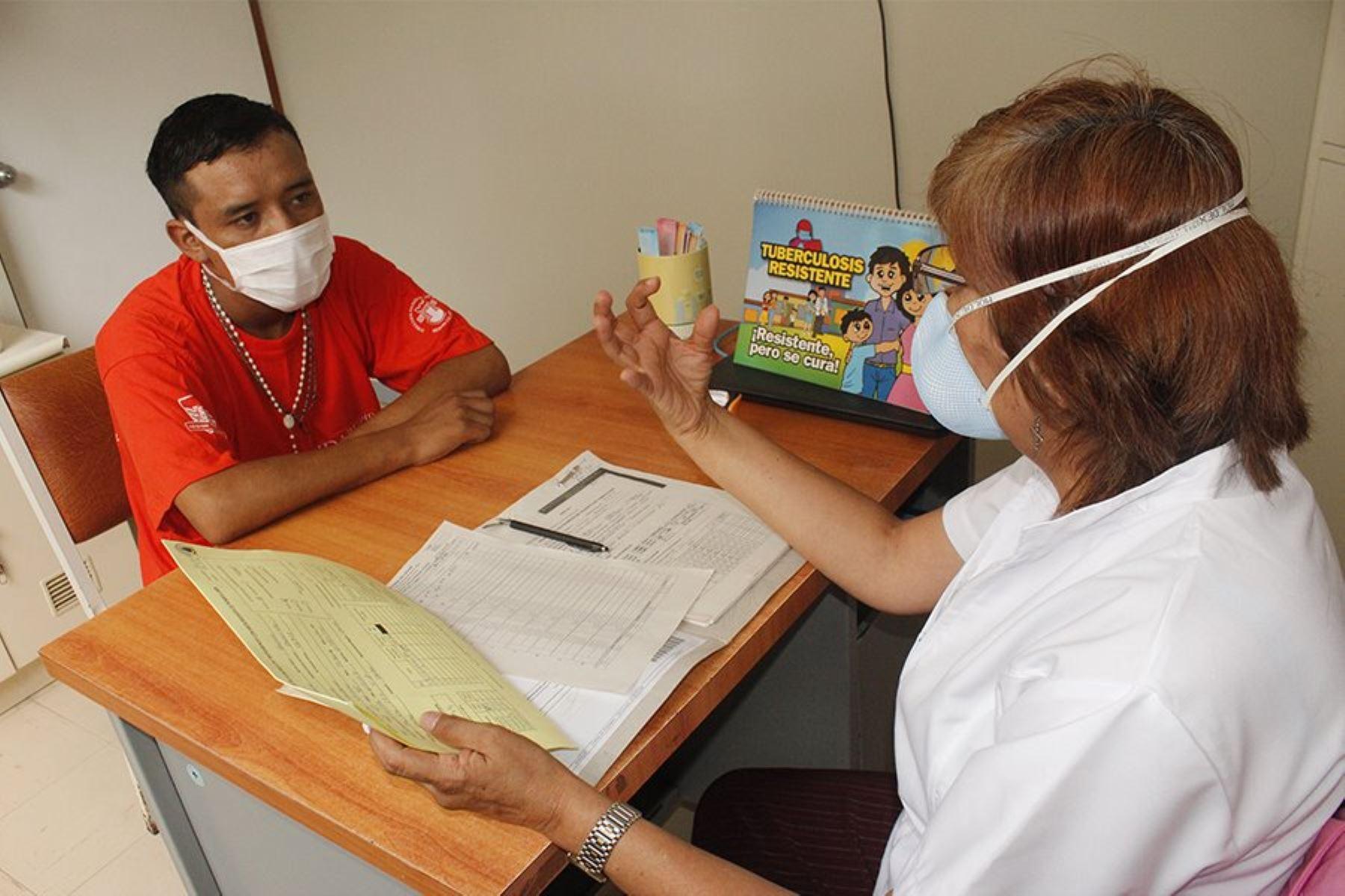 Mejora cifra de abandono del tratamiento a la TBC. Foto: Difusión