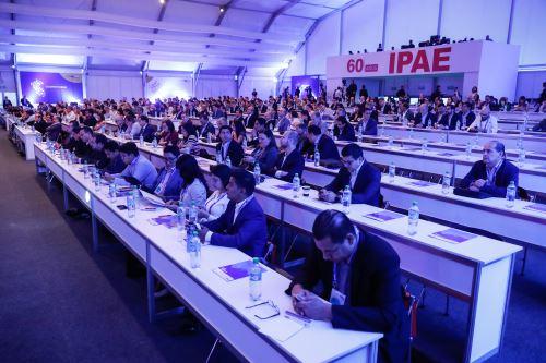 Encuentro empresarial CADE. ANDINA/Renato Pajuelo