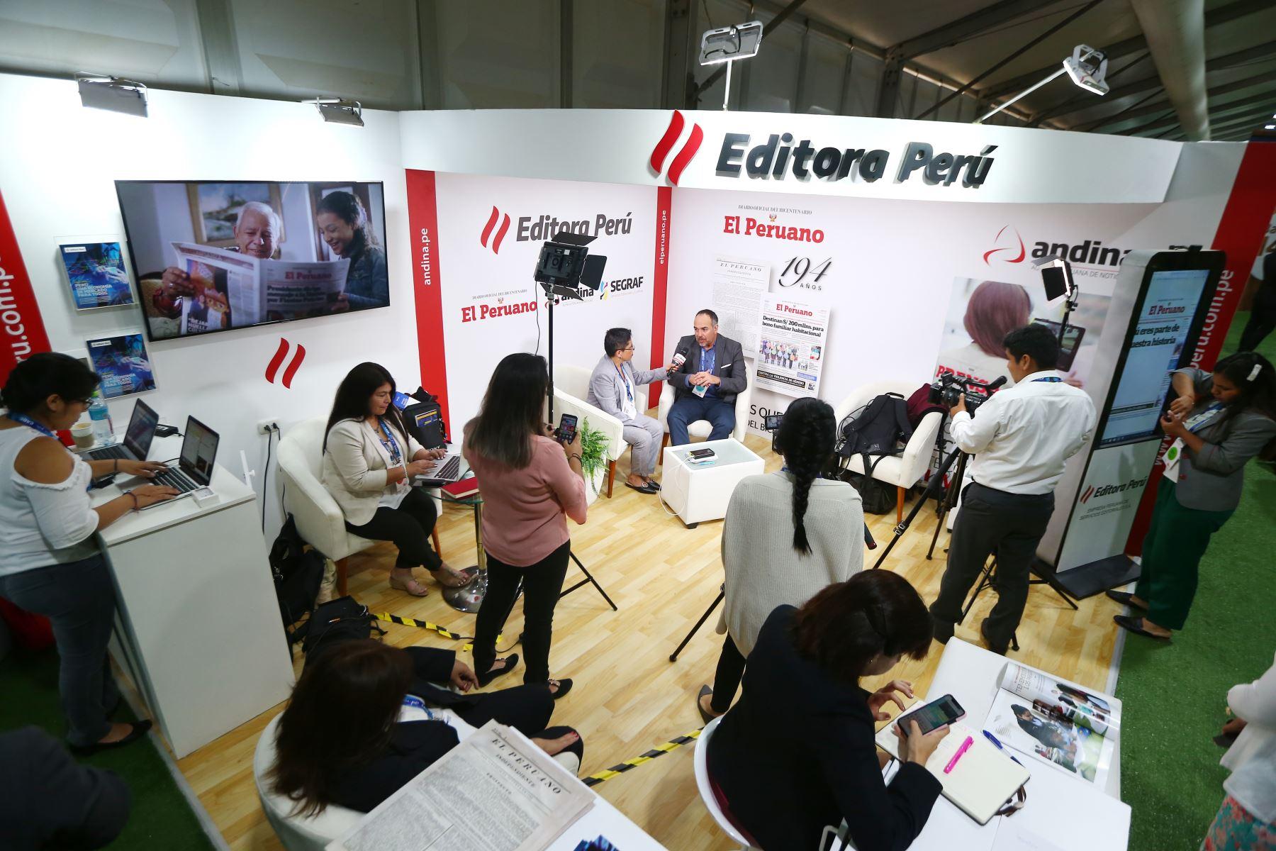 Alonso de los Heros, CEO de Sodexo.  Foto: ANDINA/Melina Mejía