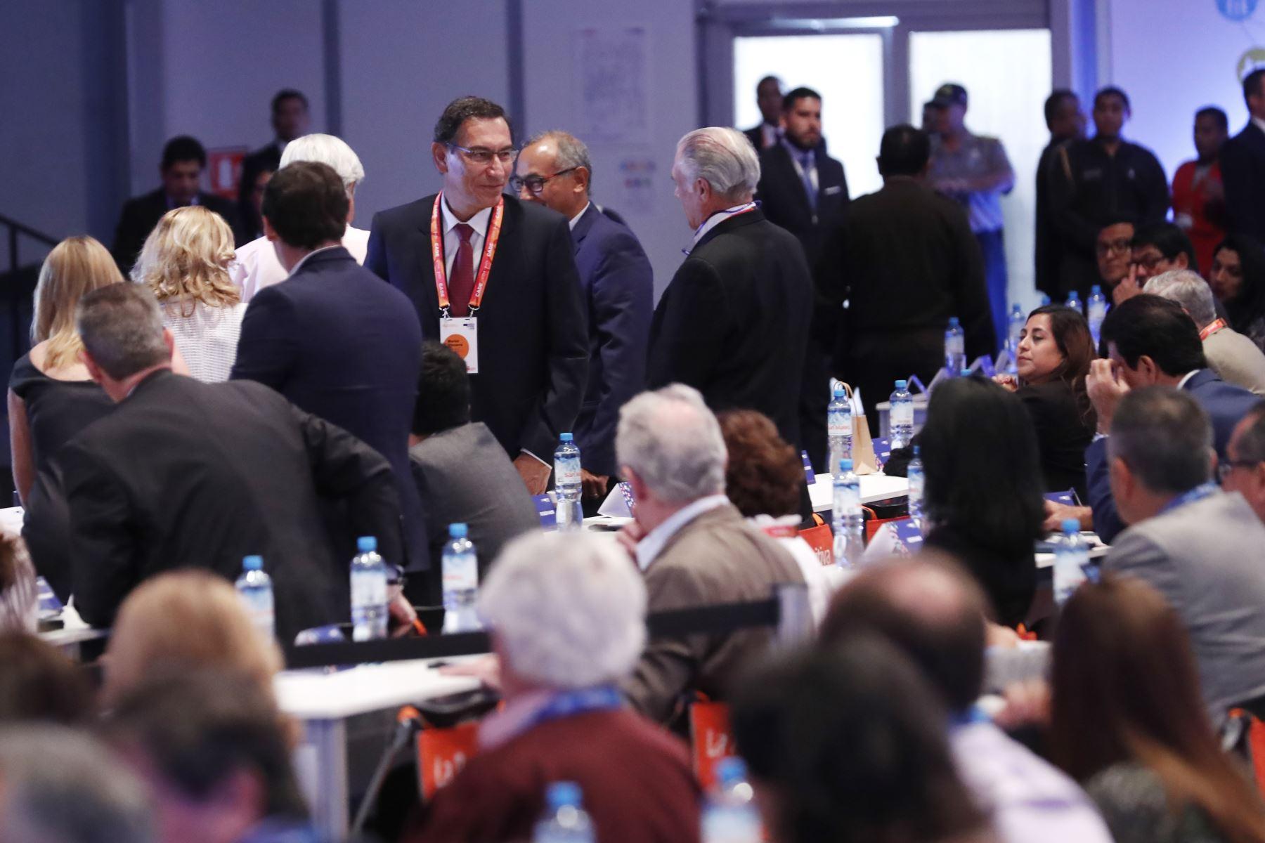 Presidente Vizcarra llega al CADE 2019Foto: ANDINA/Renato Pajuelo