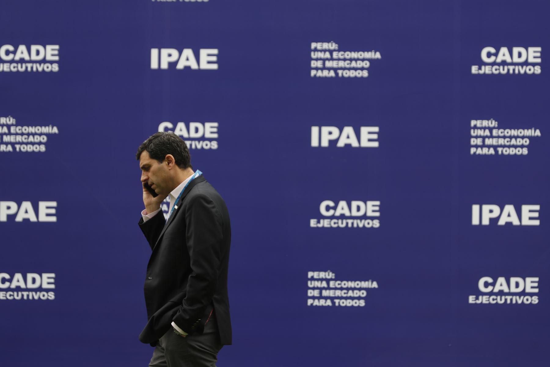 CADE Ejecutivos 2019. Foto: ANDINA/Renato Pajuelo