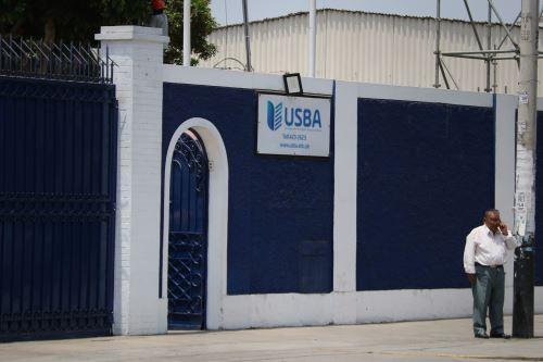 Universidad Seminario Bíblico Andino, ubicada en Pueblo Libre, deberá cerrar en dos años. Foto: Sunedu