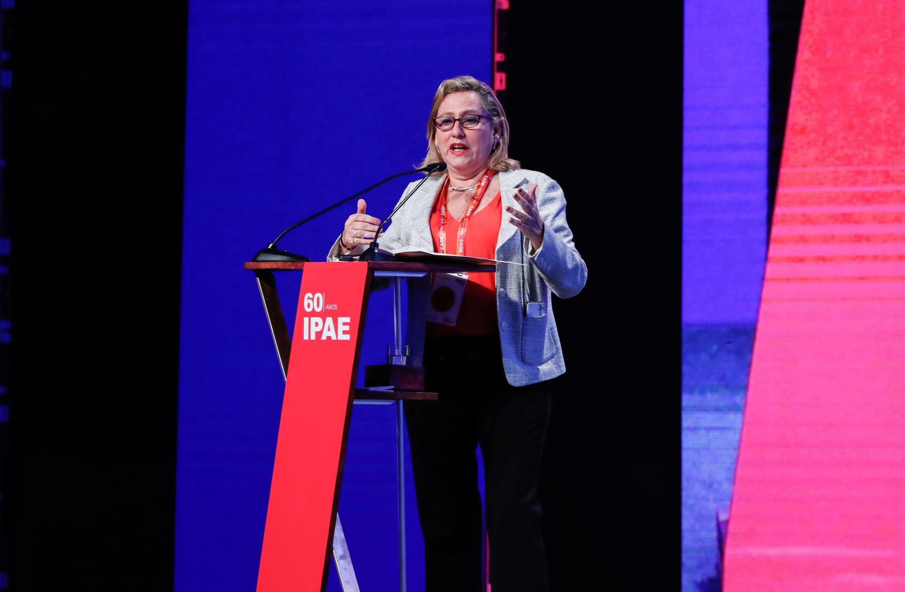 Ana Lucía Camaiora, consultora en reformas institucionales. Foto: ANDINA/Renato Pajuelo