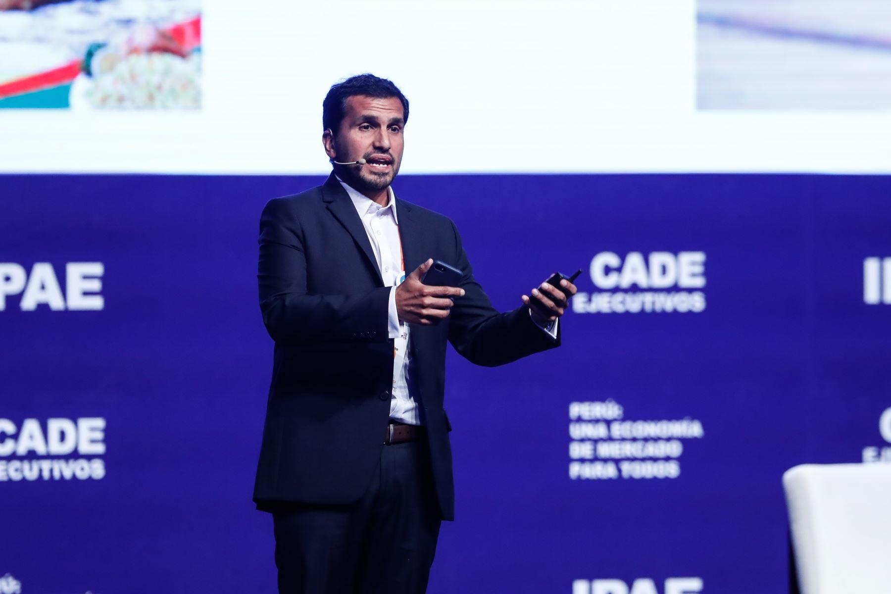 José Ignacio Beteta, presidente de la Asociación de Contribuyentes del Perú. Foto: ANDINA/Renato Pajuelo
