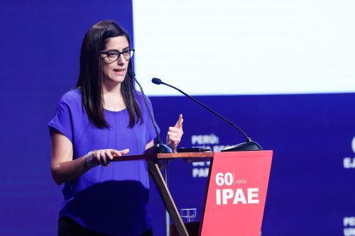 Ministra de Economía y Finanzas, María Antonieta Alva. Foto: ANDINA/Renato Pajuelo.