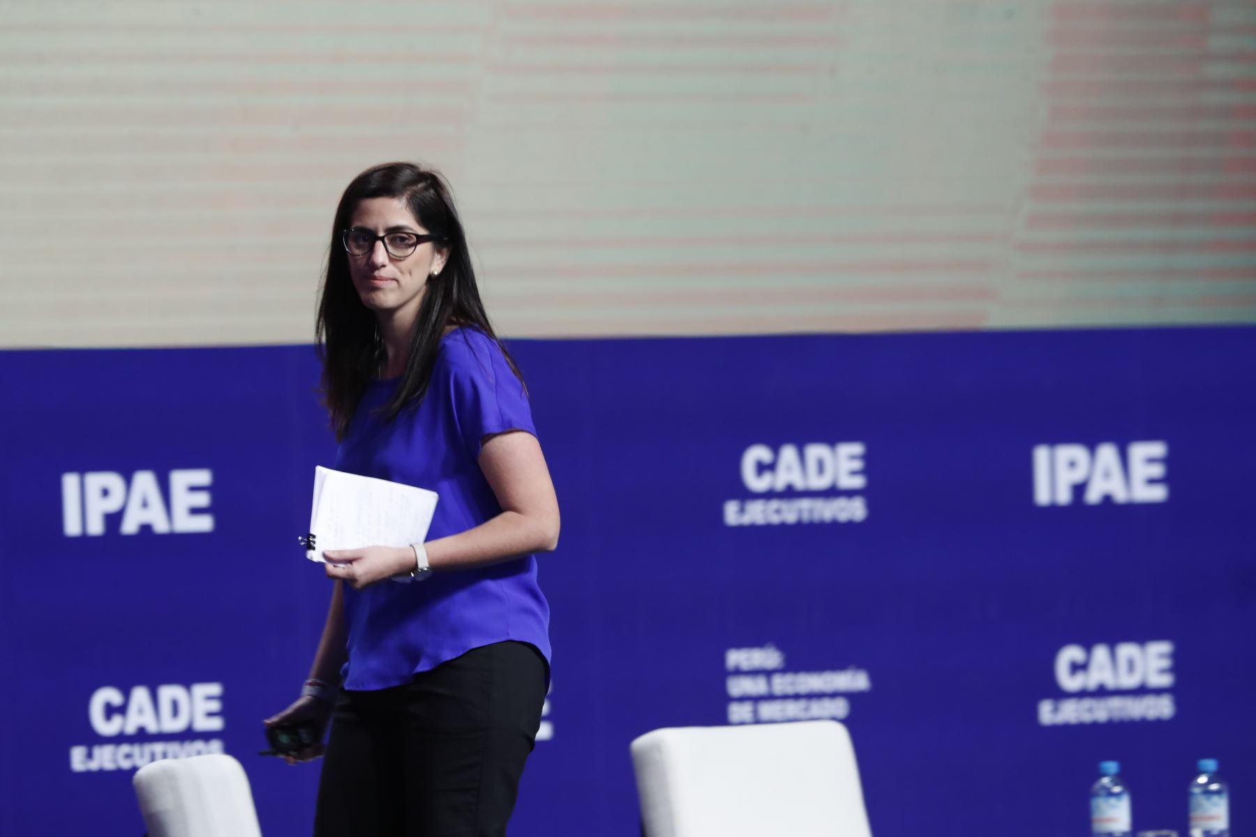 Ministra de Economía y Finanzas, María Antonieta Alva.Foto:  ANDINA/Renato Pajuelo
