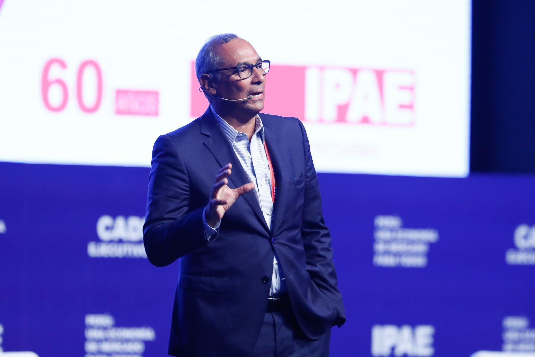 Luis Estrada, presidente del CADE Ejecutivos 2019. Foto: ANDINA/Renato Pajuelo