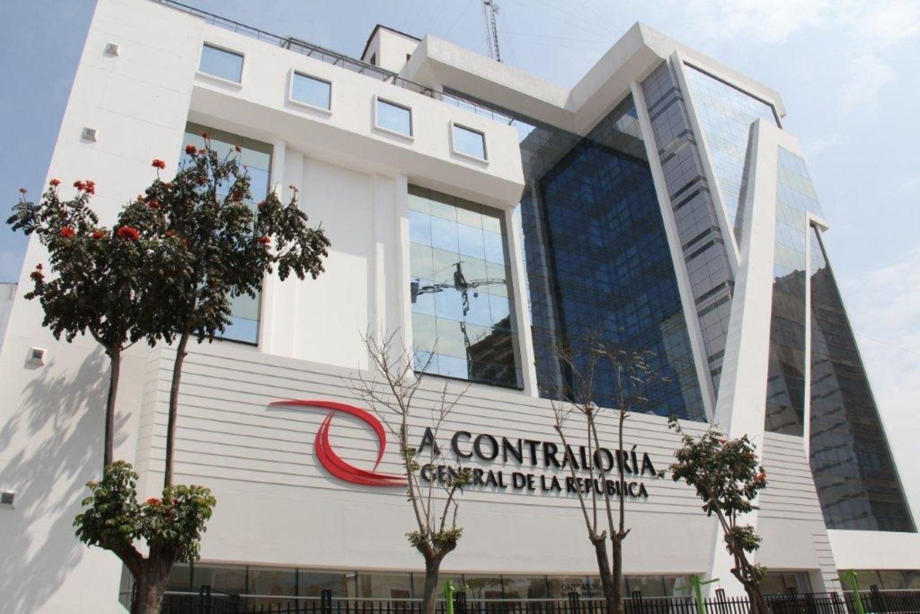 Sede de la Contraloría General de la República. ANDINA/Difusión