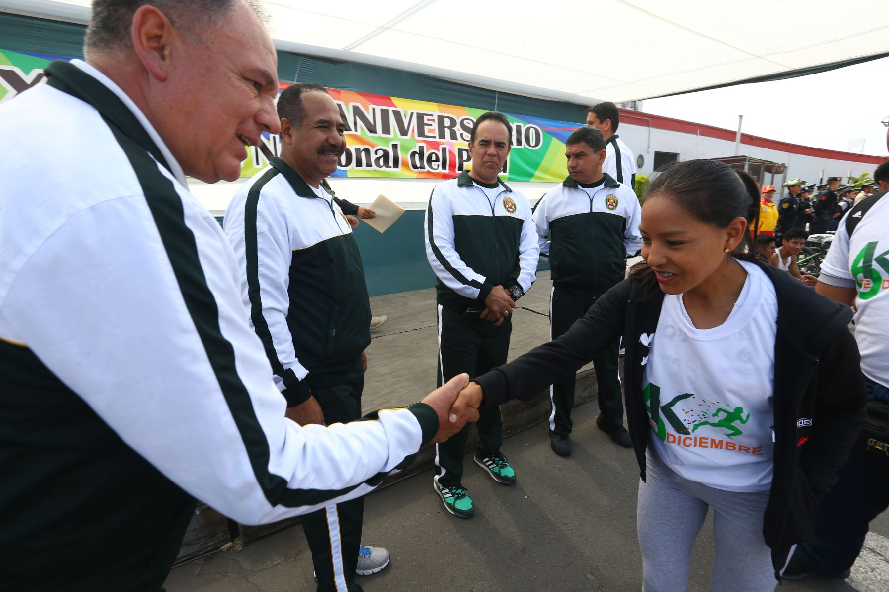 """En el marco del 31.º aniversario de creación institucional de la Policía Nacional, se realiza la """"Carrera PNP 6K"""". Foto: ANDINA/ Héctor Vinces"""