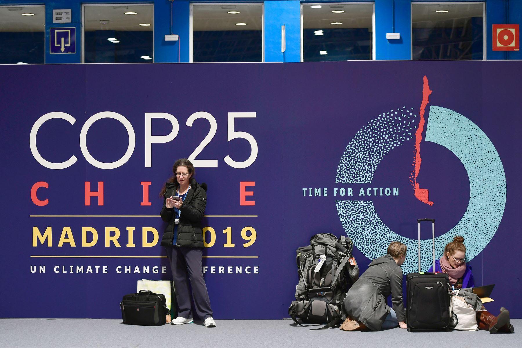 En la COP25, presidida por Chile, delegaciones de gobiernos y organizaciones ambientales discutirán cómo aumentar la acción frente a la emergencia climática. Foto: AFP