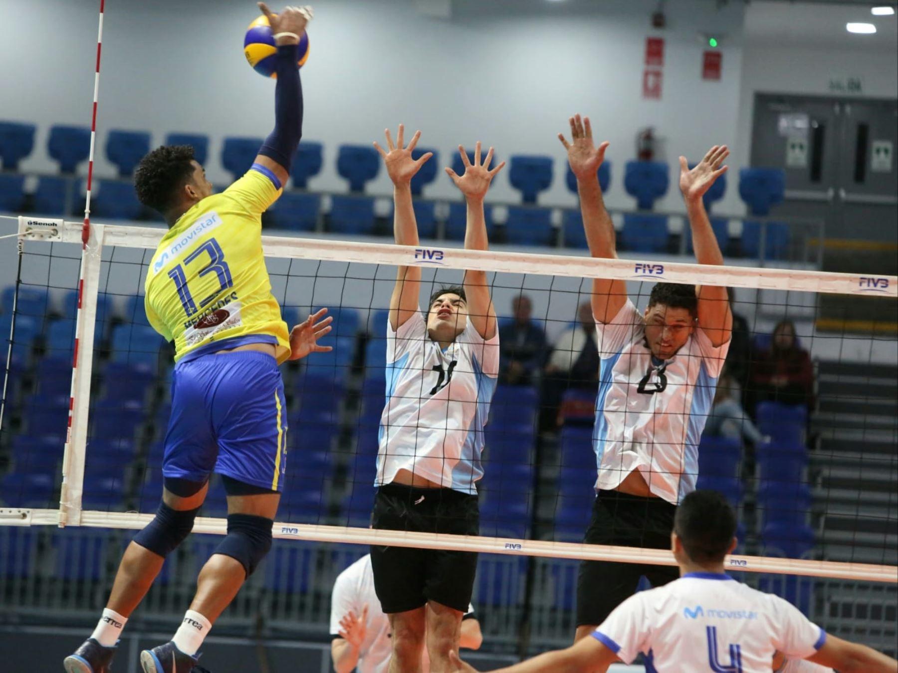 Regatas Lima y Vamos Peerless disputan hoy la final de la Liga Superior de Voleibol Masculino