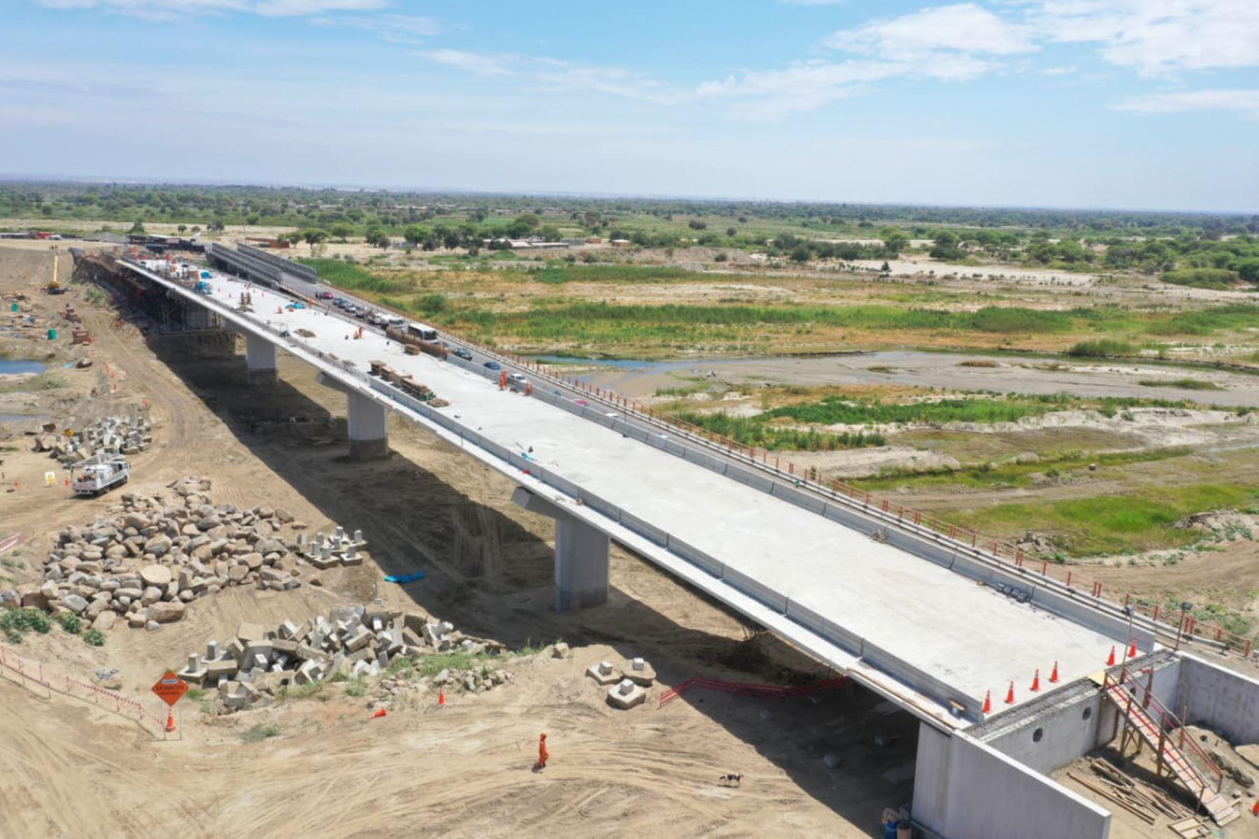 En abril de 2020 estarán concluidos cuatro puentes de la región Piura, anuncia el Ministerio de Transportes y Comunicaciones. ANDINA/Difusión