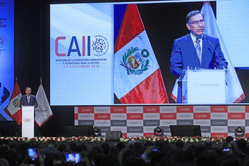 Inauguración de la Conferencia Anual Internacional por la Integridad CAII 2019