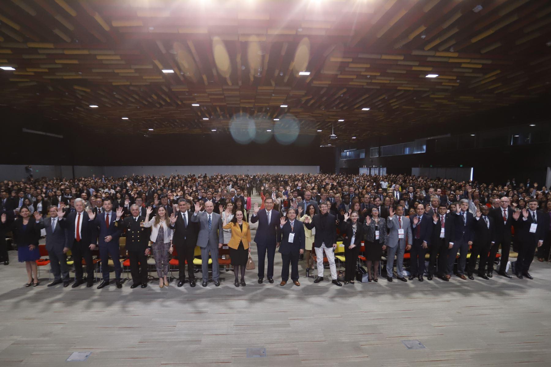 Presidente de la República asistió a la Inauguración de la Conferencia Anual Internacional por la Integridad CAII 2019, organizada por la Contraloría General de la República.Foto: ANDINA/ Prensa Presidencia