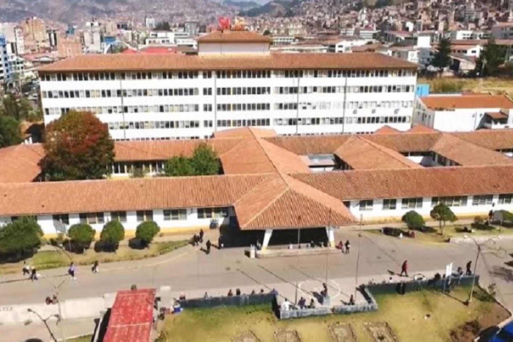 El Hospital Regional de Cusco recibirá implementos médicos para mejorar atención de casos de coronavirus. ANDINA/Difusión