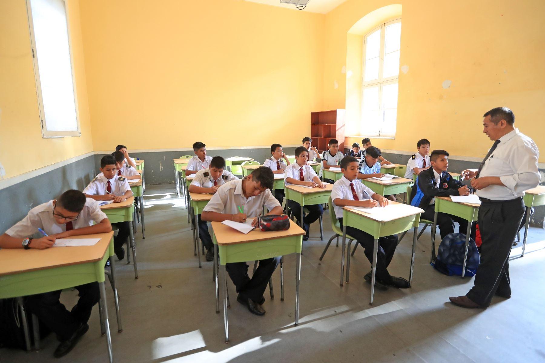 PISA: Perú sigue mostrando mayor crecimiento histórico en matemática, ciencia y lectura. Foto: ANDINA/Difusión.