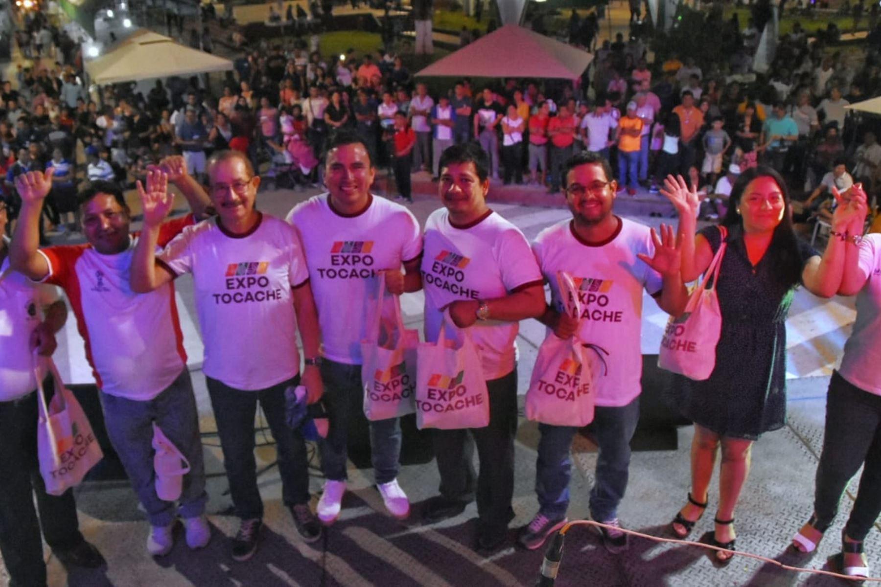 Feria Expo Tocache, en San Martín, fue un éxito al lograr compromisos de negocios por S/ 500,000.