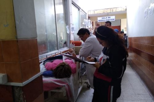 Una de las personas heridas falleció durante el traslado al Hospital Provincial de Otuzco, y otras dos personas murieron en el lugar del accidente.ANDINA/Difusión