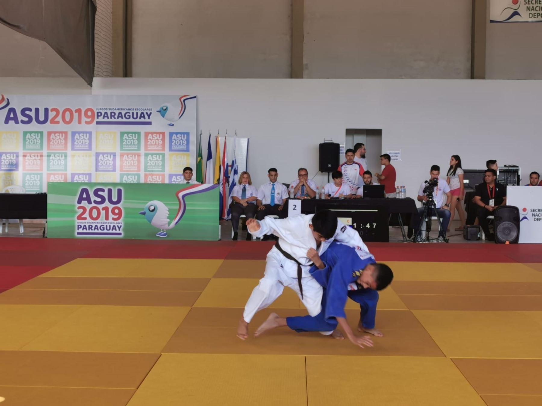 La delegación peruana realiza una buena presentación den los Juegos Sudamericanos Escolares