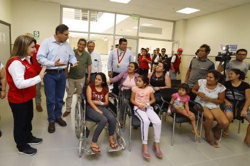 Visita de inspección al nuevo hospital de Jaén