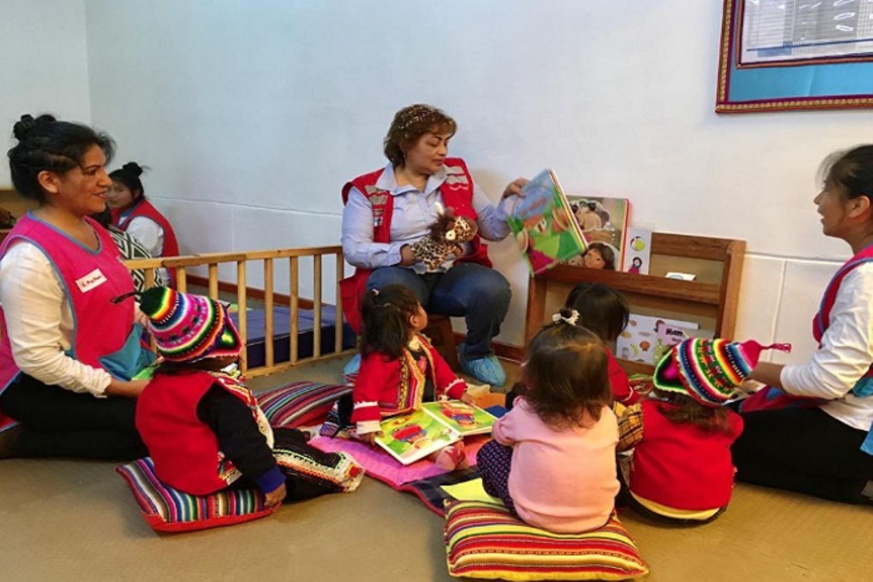 Gobiernos regionales se comprometen a dar un mayor énfasis al desarrollo infantil temprano. ANDINA/Difusión