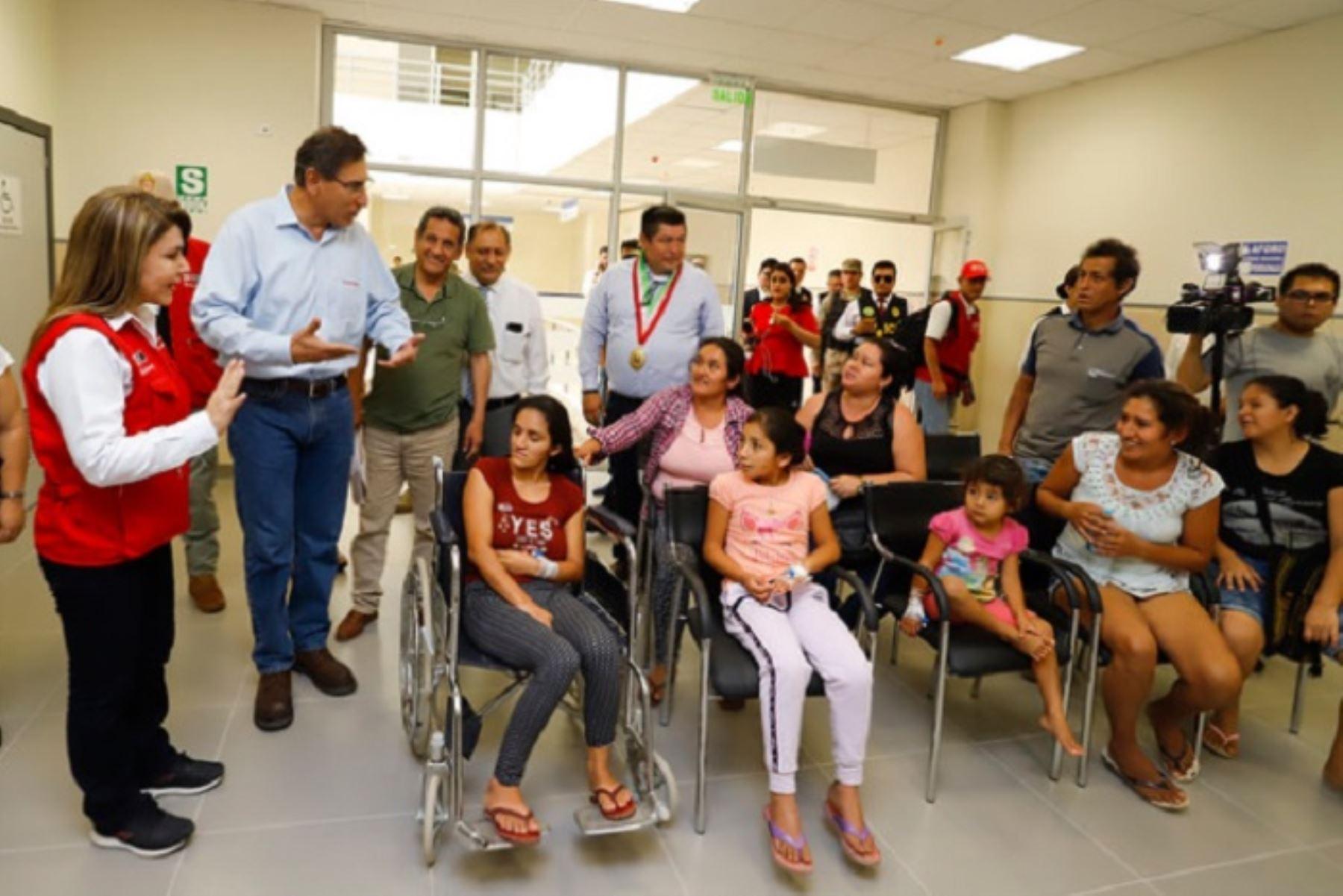 Las obras del hospital de Jaén fueron ejecutadas por Gobierno Regional de Cajamarca, con una inversión de más 156 millones de soles.