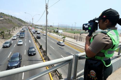 Medidas de gestión de tránsito en la Costa Verde