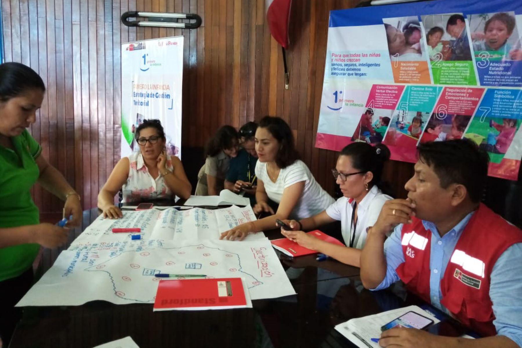 El Midis ha capacitado a 5,675 personas en regiones en la implementación de la estrategia de gestión territorial Primero la Infancia.