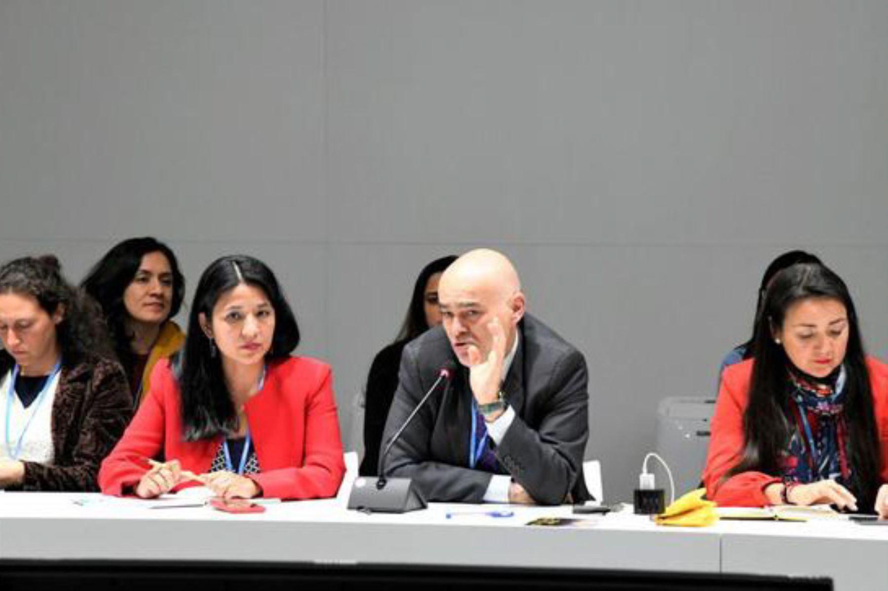 El viceministro de Desarrollo Estratégico de los Recursos Naturales del Minam, Gabriel Quijandría, participó en la primera reunión de la delegación peruana en la COP25.
