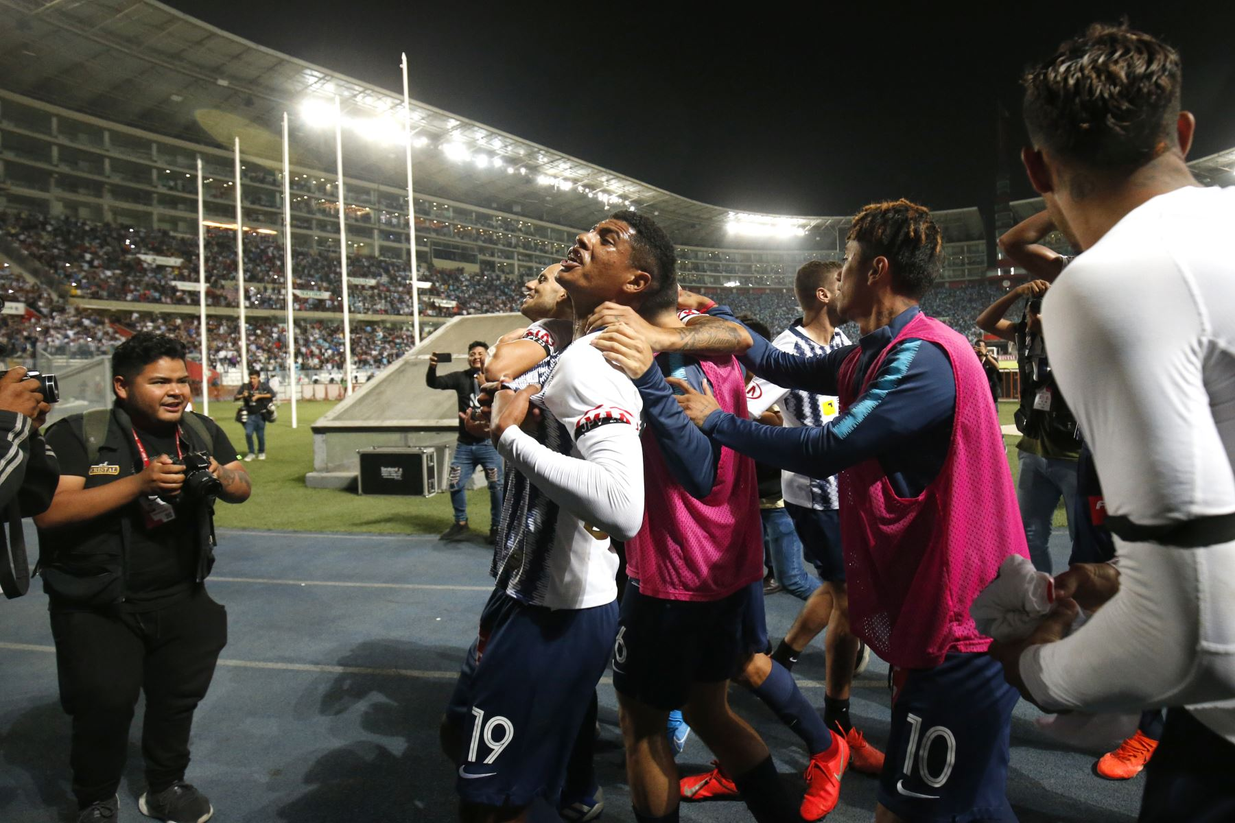 Alianza Lima empató 1-1 con Sporting Cristal y clasificó a la final de la Liga 1  Foto: Andina/Juan Carlos Guzmán Negrini