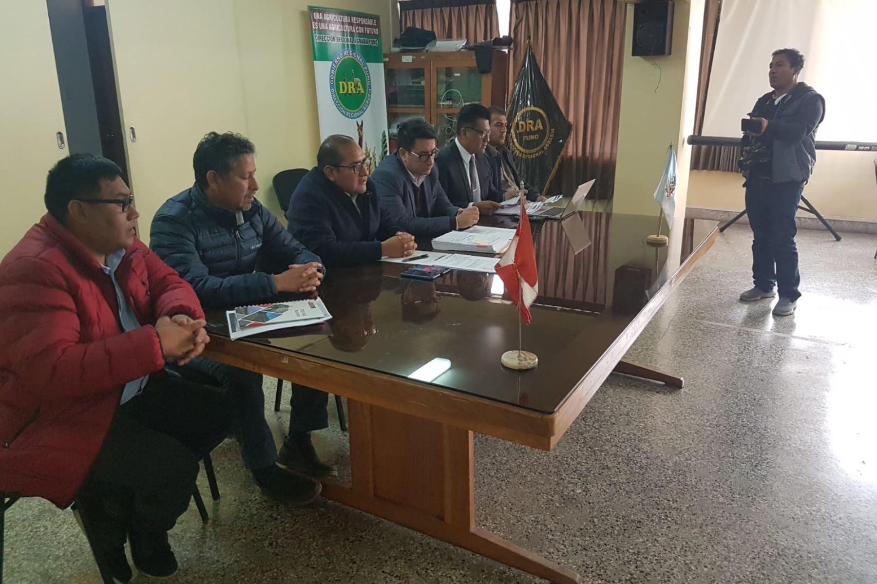 MTC busca el diálogo en Puno para explicar sobre el estado de la vía Checca-Mazocruz.