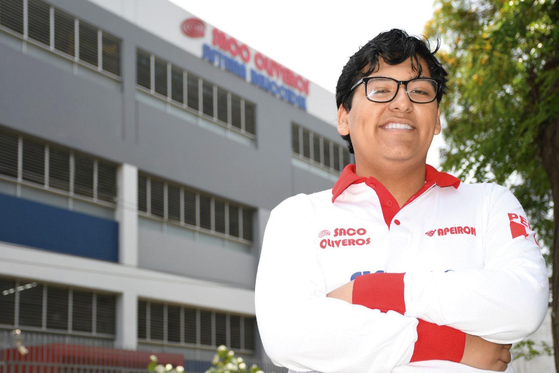 Franco Ramírez Arango ocupó el primer puesto en el cómputo general en el Examen de Admisión UNI 2020- I. Anteriormente, hizo lo mismo en San Marcos y Callao.Foto: Saco Oliveros