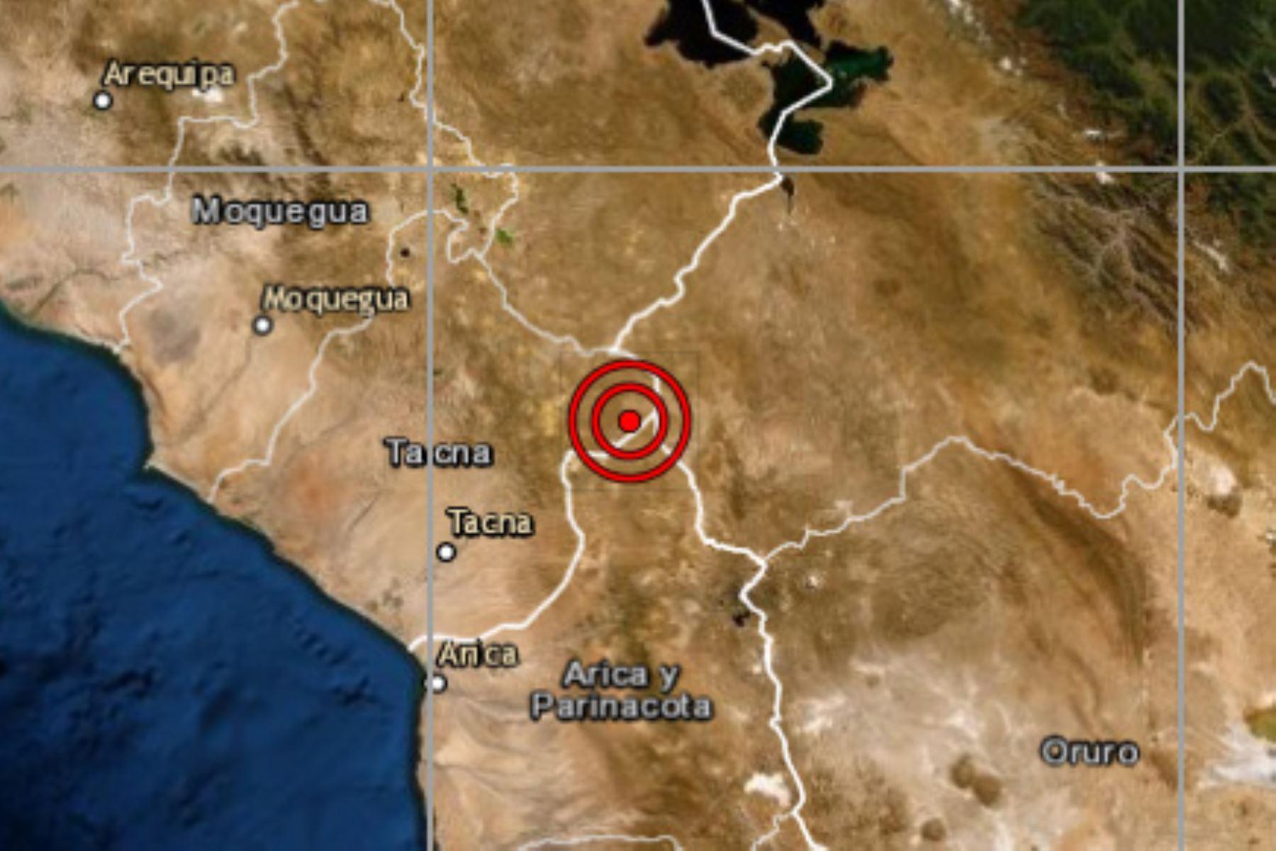 Las autoridades de Defensa Civil no han reportado, hasta el momento, daños personales ni materiales por el sismo de magnitud 4.2 en Puno.
