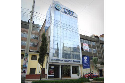 La Universidad Peruana Santo Tomás de Aquino de Ciencia e Integración de Junín tiene 512 estudiantes en cinco programas académicos de pregrado. Foto: ANDINA/Difusión