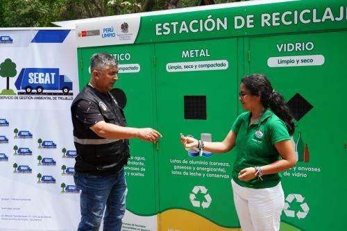 Con estación de reciclaje Trujillo espera mejorar la disposición final de residuos sólidos. ANDINA/Difusión