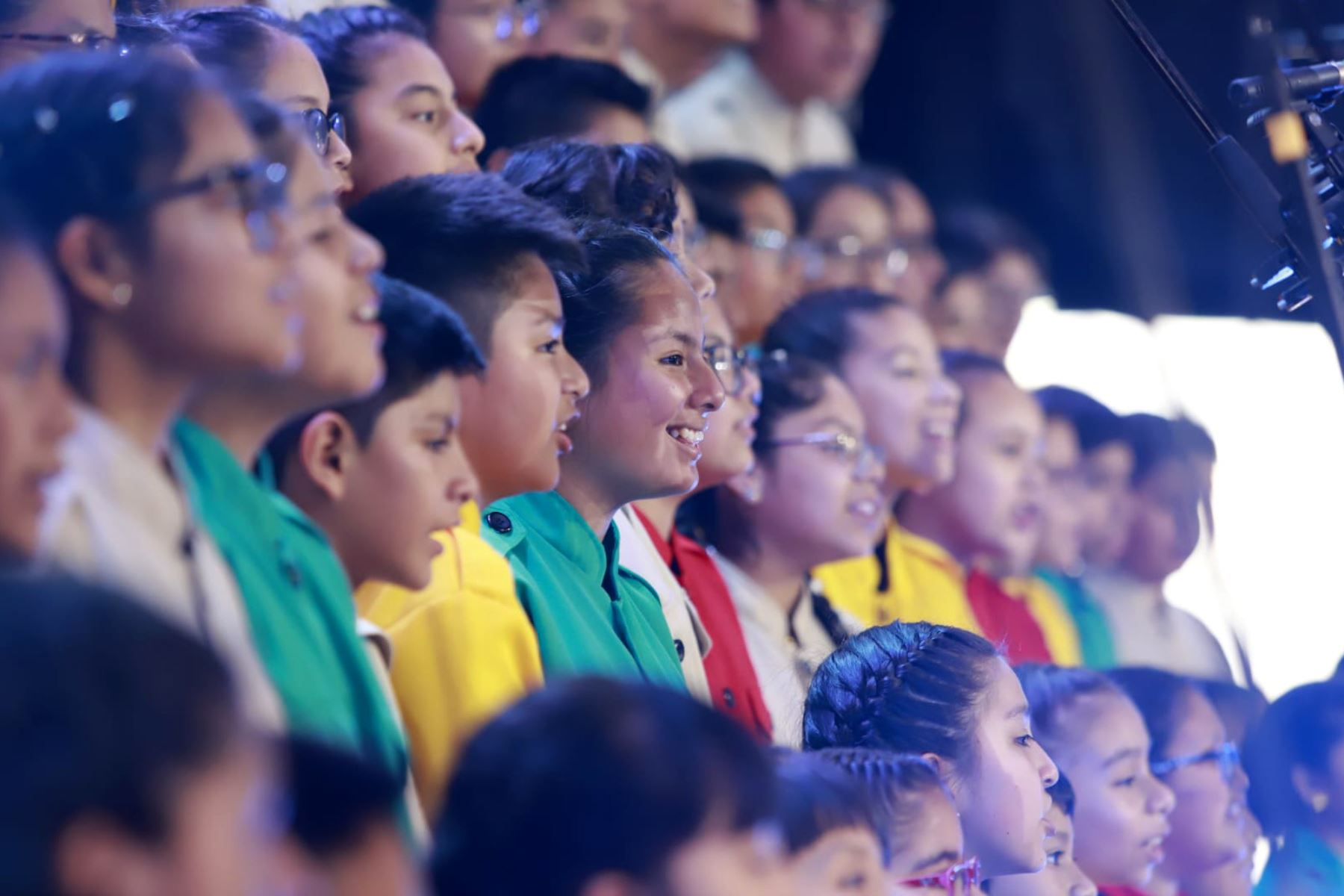 """""""Mundo de ilusiones"""", iniciativa que promueve cultura, conocimiento y el desarrollo de valores en niños y adolescentes en condición de vulnerabilidad. Foto: ANDINA/ Prensa Presidencia"""