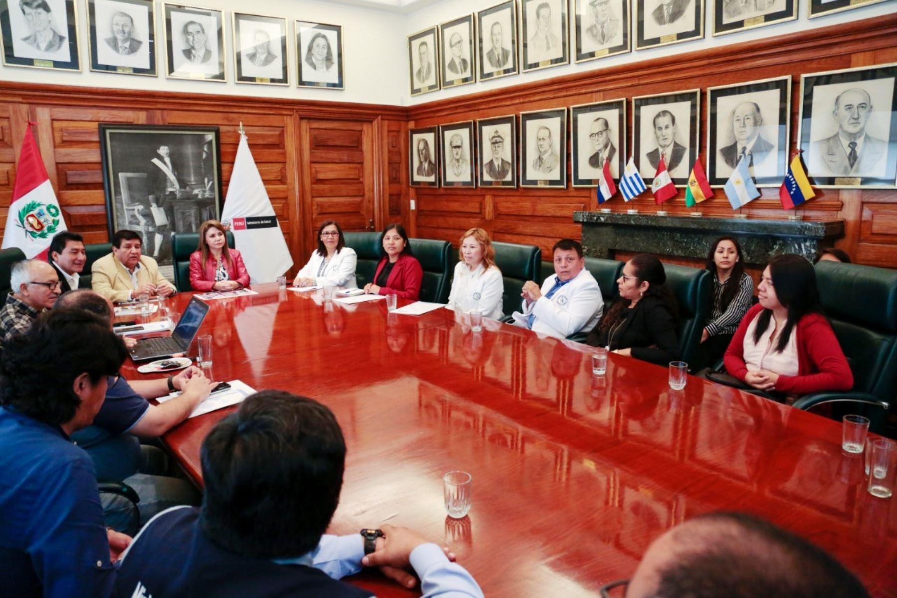 Minsa y municipio de Ate coordinan funcionamiento de nuevo hospital de Vitarte. Foto: ANDINA/Difusión.